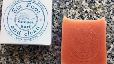 Sunset Surf Soap Bar