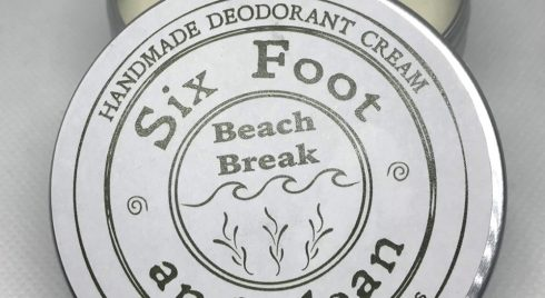 Beach Break Natural Deodorant Cream