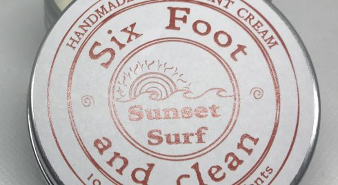 Sunset Surf Natural Deodorant Cream