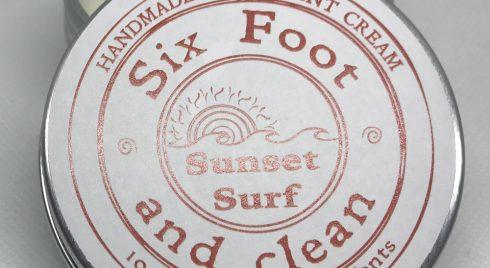 Sunset Surf Natural Deodorant Cream