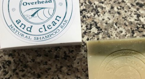 Clean Overhead Shampoo Bar