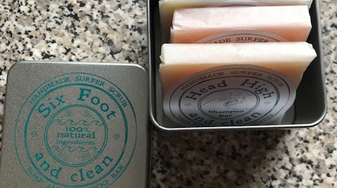 Mini Soap Bar Travel Tin